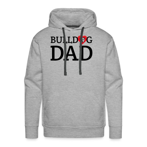 Bulldog Dad - Men's Premium Hoodie