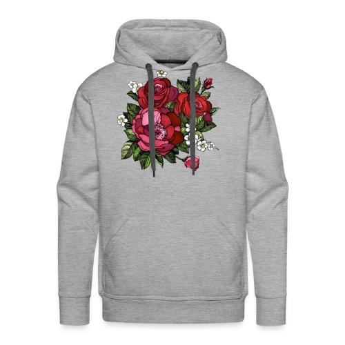 Flowers Design - Men's Premium Hoodie