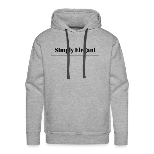 Simply Elegant - Men's Premium Hoodie