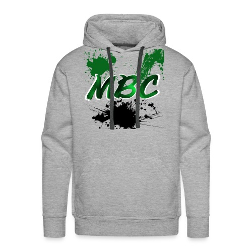 MinerBroConnor With Splatter - Men's Premium Hoodie