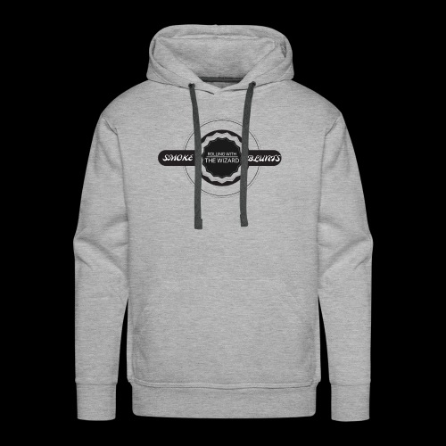 ROLLING WITH THE WIZARD LOGO - Men's Premium Hoodie