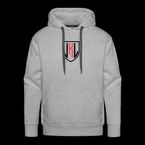 JKL typography logo - Men's Premium Hoodie