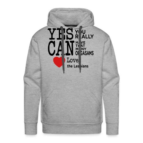 Love Lesbian T-Shirt - Men's Premium Hoodie