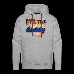 Hit me - Men's Premium Hoodie