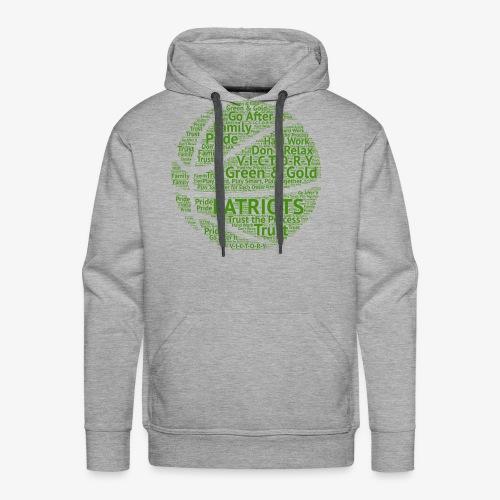 Pats Basketball Green - Men's Premium Hoodie