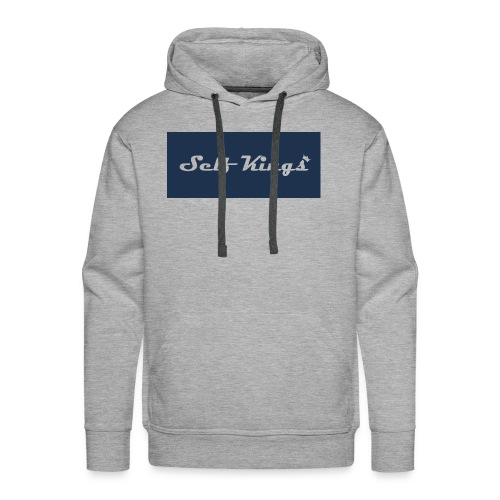 Self Kings Crowned - Men's Premium Hoodie