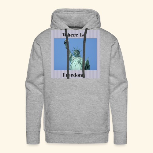 Where is freedom - Men's Premium Hoodie