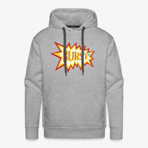 burst logo - Men's Premium Hoodie