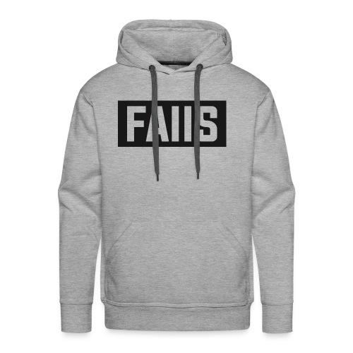 FAIIS logo Design - Men's Premium Hoodie