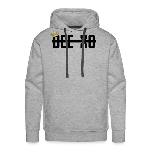 Black Crowned Dee Merch - Men's Premium Hoodie