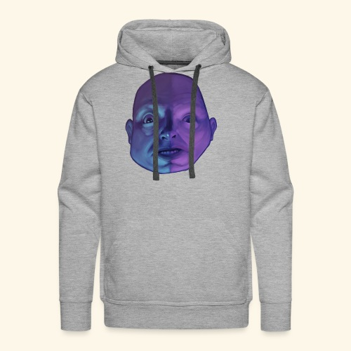 The fear that creeps in the night - Men's Premium Hoodie