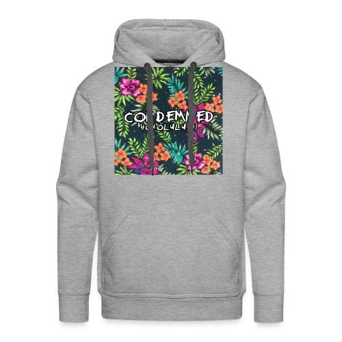 Floral Pattern - Men's Premium Hoodie
