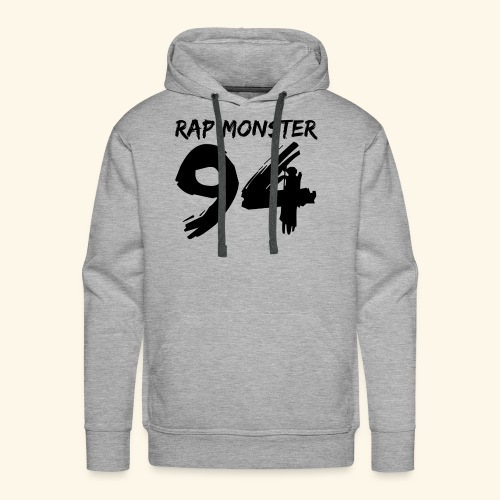 BTS Rap Monster 94 Design - Men's Premium Hoodie