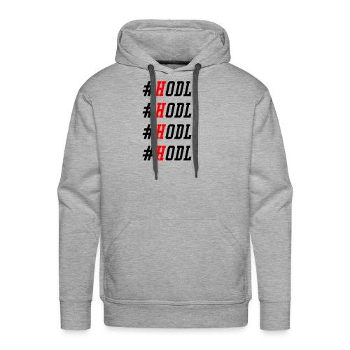 HODL - Crypto Bitcoin Ethereum Shirt - Men's Premium Hoodie
