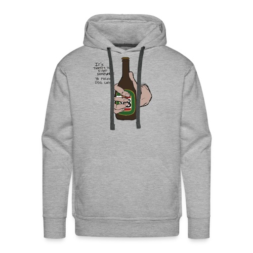it's twenty to eight somewhere - Men's Premium Hoodie