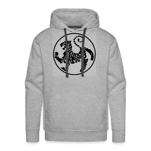 Shotokan-Tiger_black - Men's Premium Hoodie