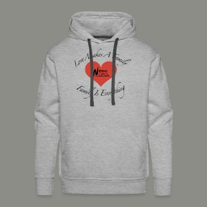 Love Makes A Family - Men's Premium Hoodie