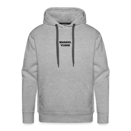 MARKEL VLOGS Merchandise - Men's Premium Hoodie