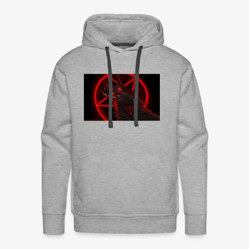 The demon wolf pack - Men's Premium Hoodie