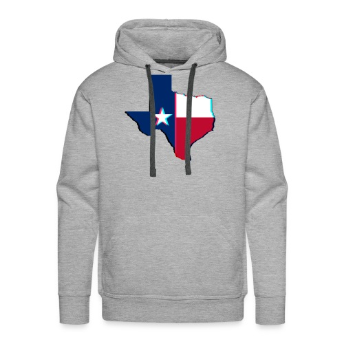3D Texas - Men's Premium Hoodie