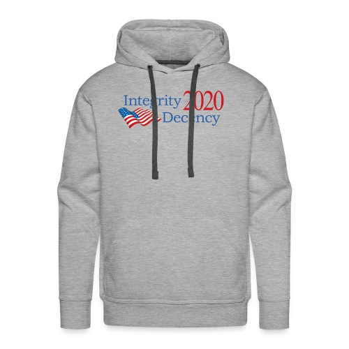 Vote for real American values! - Men's Premium Hoodie