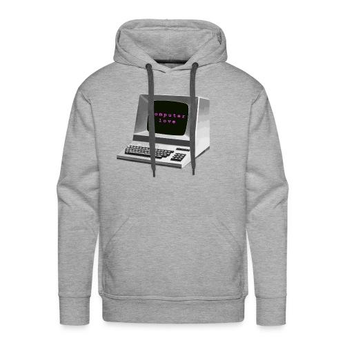 Computer Love - Men's Premium Hoodie