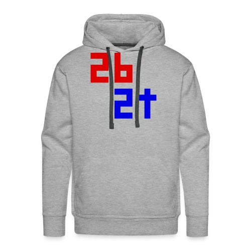 2b2t Logo - Men's Premium Hoodie