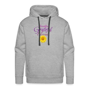 Thankful grateful blessed - Men's Premium Hoodie