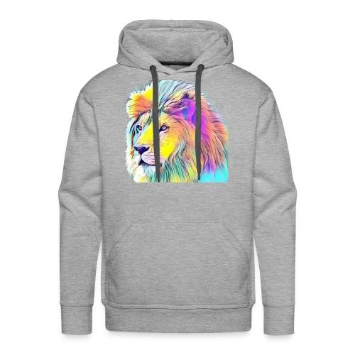 Rainbow Lion - Men's Premium Hoodie