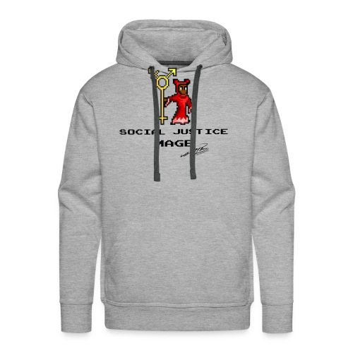 Social Justice Mage - Men's Premium Hoodie