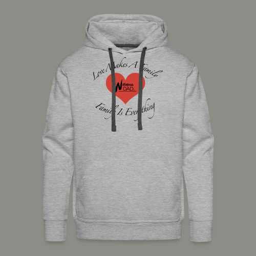 Love Makes A Family - Men's Premium Hoodie