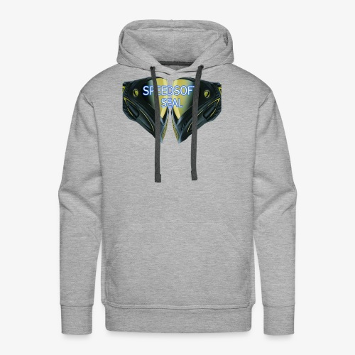 masked seal - Men's Premium Hoodie