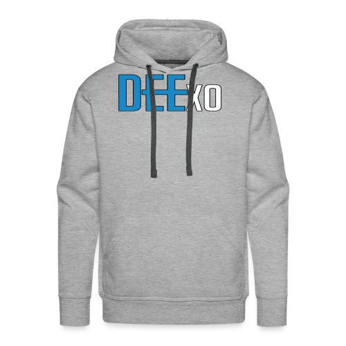 Blue & White Dee Merch - Men's Premium Hoodie