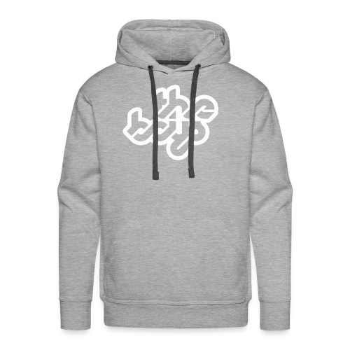 The Boys official logo - white - Men's Premium Hoodie