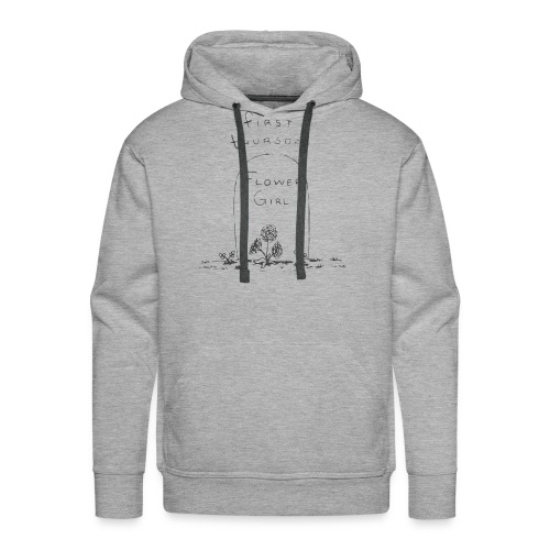 Flower Girl - Men's Premium Hoodie
