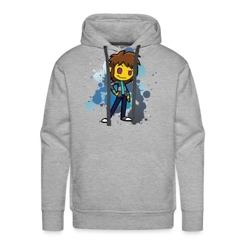 Darkar Paint Blue - Men's Premium Hoodie
