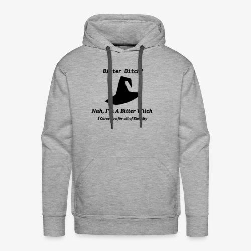 bitter witch - Men's Premium Hoodie