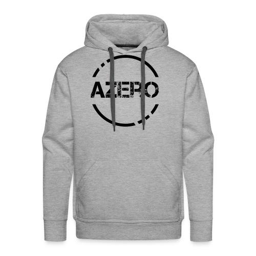 Azero logo black - Men's Premium Hoodie