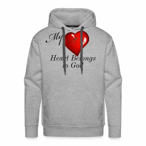 My Heart T Shirt - Men's Premium Hoodie