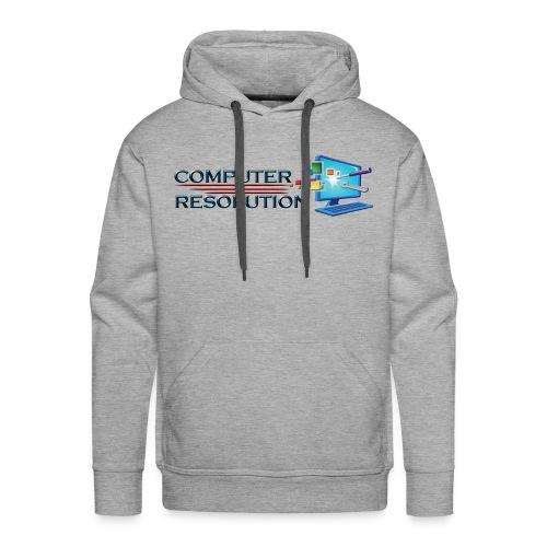 Colored Computer Resolution - Men's Premium Hoodie