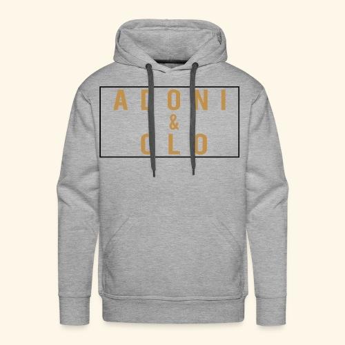 Adoni & Clo Simple Rectangle - Men's Premium Hoodie