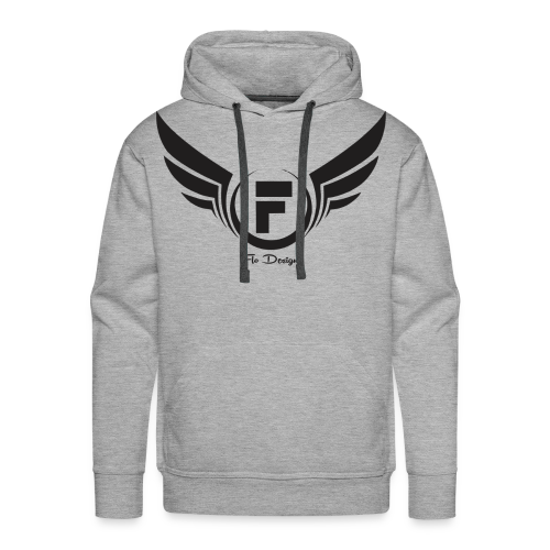 Flo's Limited Edition brand name and logo - Men's Premium Hoodie
