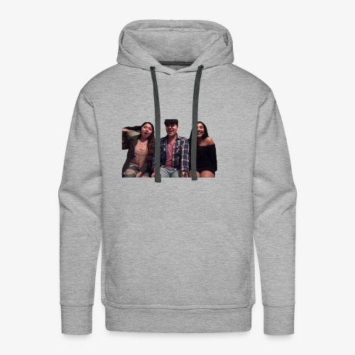 Fido, Cindy, and Tania - Men's Premium Hoodie