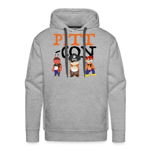 PittCon 2017 Pirate Squad Logo - Men's Premium Hoodie