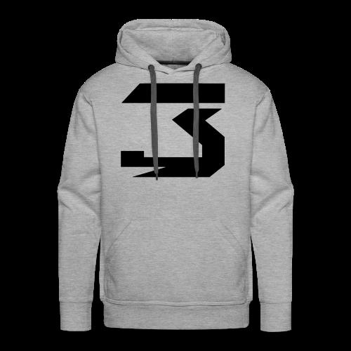 JM #3 (black) - Men's Premium Hoodie