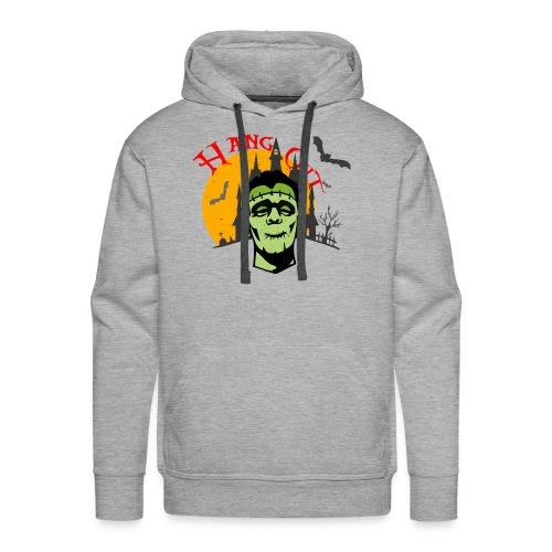 LET S HANG OUT FRANKENSTEIN copy - Men's Premium Hoodie