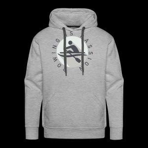 Rowing Is Passion Logo - Men's Premium Hoodie