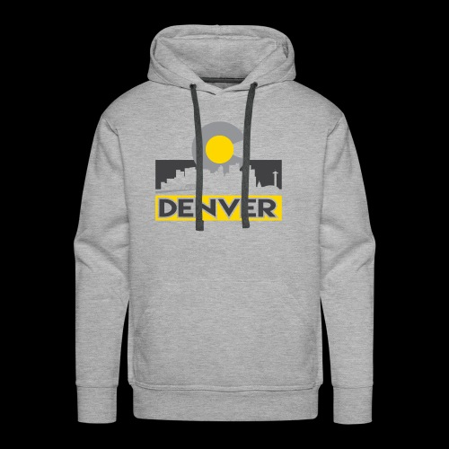 Denver Gray and Gold - Men's Premium Hoodie