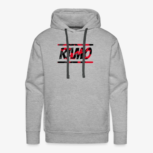 Ramo Red Camo - Men's Premium Hoodie