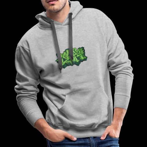 By Beats Green - Men's Premium Hoodie